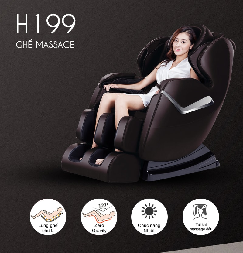Ghế massage H199
